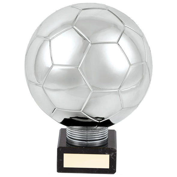 Planet Football Legend Rapid 2 Trophy Silver 185mm