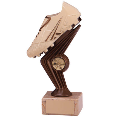 Spirit Falcon Football Boot Cream & bronze 200mm