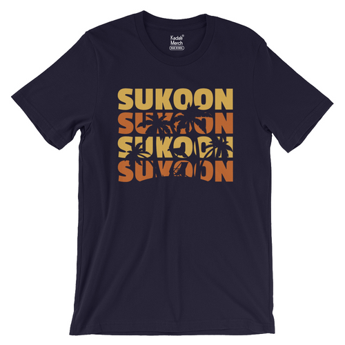 Sukoon T-Shirt (Navy Blue)