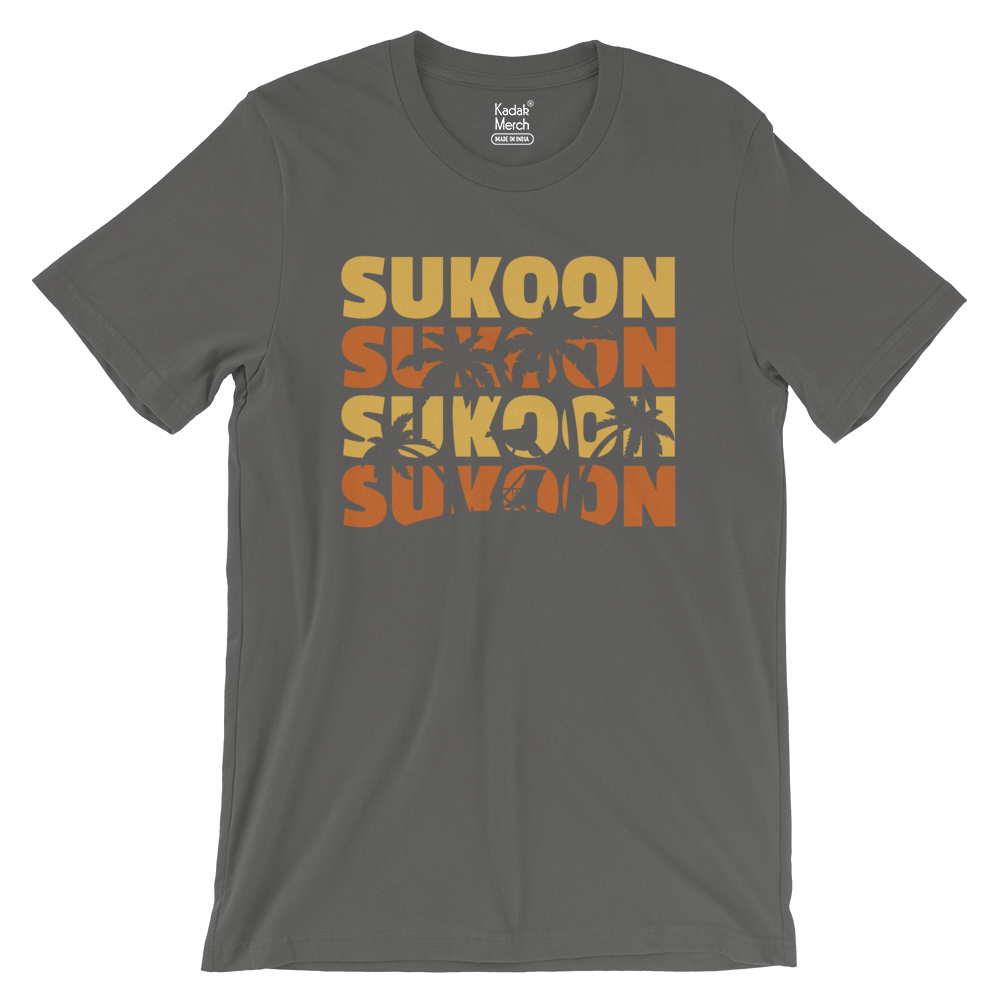 Sukoon T-Shirt (Slate Grey)