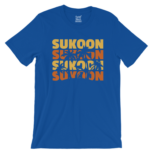 Sukoon T-Shirt (Royal Blue)