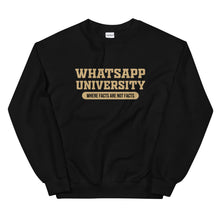 Load image into Gallery viewer, Whatsapp University Sweatshirt
