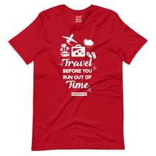 Load image into Gallery viewer, Travel before you run out of Time T-Shirt