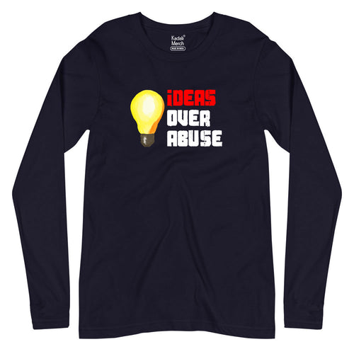 Ideas Over Abuse Full Sleeves T-Shirt