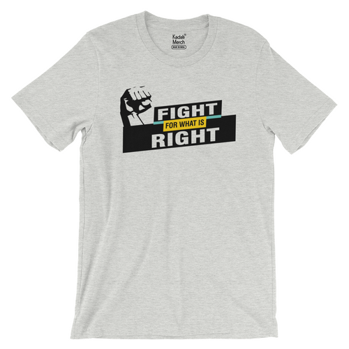 Fight for what is Right T-Shirt
