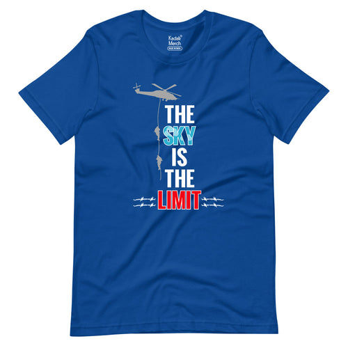 The Sky Is The Limit - Air Force T-Shirt