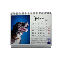 Load image into Gallery viewer, 2020 Friendicoes Table Calendar (Pitbull Theme)