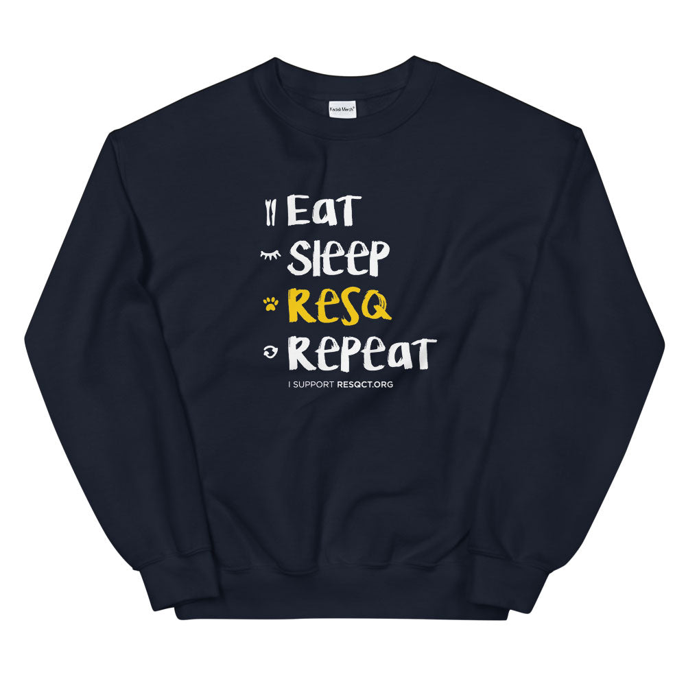 Eat Sleep RESQ Repeat Sweatshirt