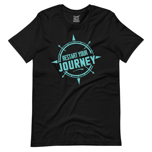 Backpackers | Restart your journey T-Shirt | Alright!