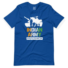 Load image into Gallery viewer, Indian Army Saving Your Ass Since 1947 T-Shirt