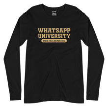 Load image into Gallery viewer, Whatsapp University Full Sleeves T-Shirt