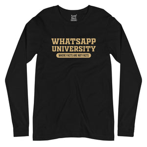 Whatsapp University Full Sleeves T-Shirt