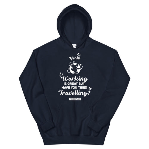Working is great have you tried Traveling Hoodie