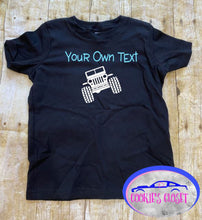 Load image into Gallery viewer, Your Own Text Wrangler Toddler Short or Long Sleeve T-Shirt