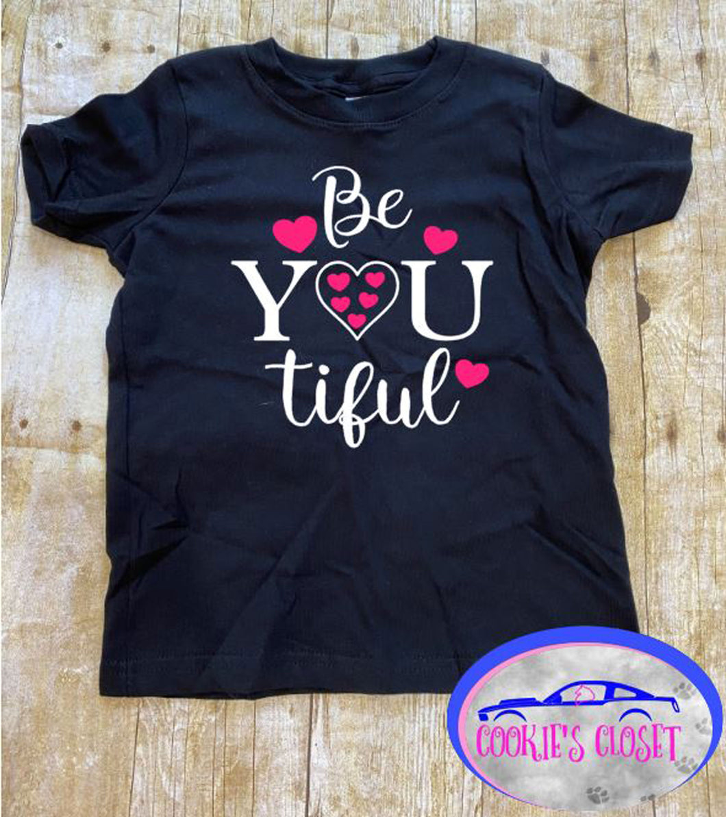 B You Ti Ful Toddler Short or Long Sleeve T-Shirt