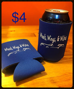 Wheels, Wings & Wishes Can Coolers