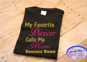 Rhythms in Motion Ladies V-Neck or Adult Unisex Dance Mom 2019 T Shirt