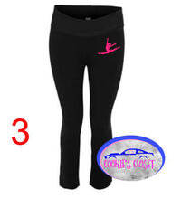 Load image into Gallery viewer, ***CLEARANCE*** Ladies Yoga Pants with your choice of dancer