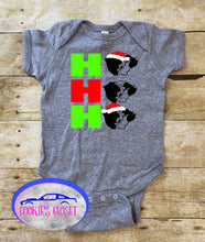 Load image into Gallery viewer, Guinea Pig Ho Ho Ho Christmas Infant Bodysuit!
