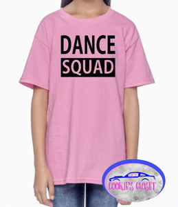 ***CLEARANCE*** Dance Squad Youth Pink X-Small T Shirt