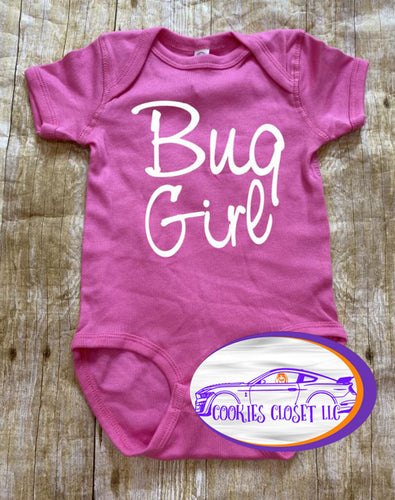 All American Challenger Girl Infant Bodysuit (short or long sleeve)