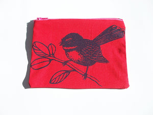 Fantail Coin Purse Red
