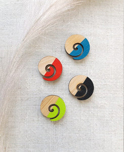 Koru Stud Earrings