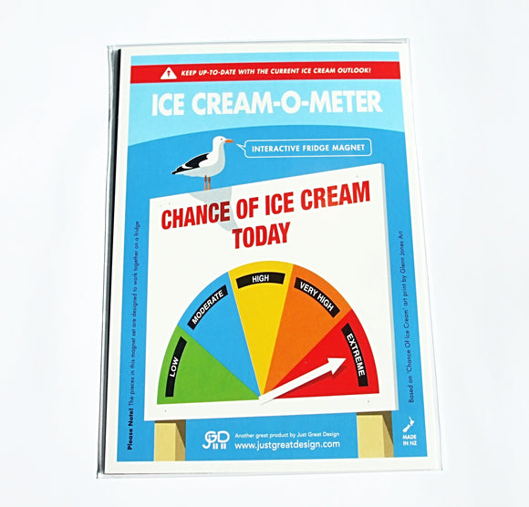 Ice Cream-O-Meter (Interactive Magnet)