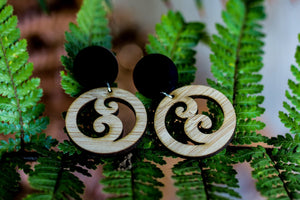 MD Double Koru Earrings