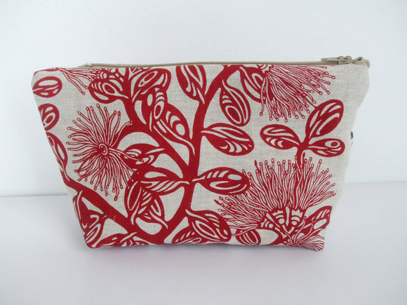 Pohutukawa Make Up Bag