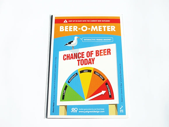 Beer 'O' Meter (Interactive Fridge Magnet)