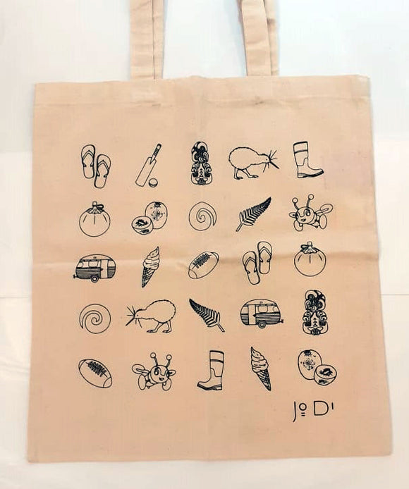NZ Themed Tote Bags (4 Designs)