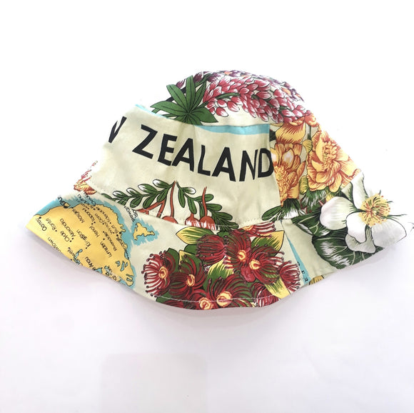 NZ Flowers Bucket Hat