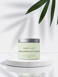 Collagen Clay Mask (Chia & Charcoal)