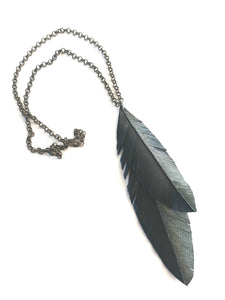 Kereru Feather Pendant