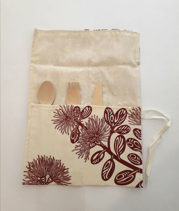 Fabric Cutlery Roll