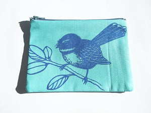 Fantail Coin Purse Blue
