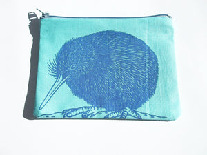 Kiwi Coin Purse Blue