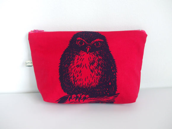 Owl Make Up Bag