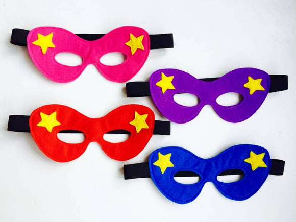 Dress-Up Felt Superhero Mask