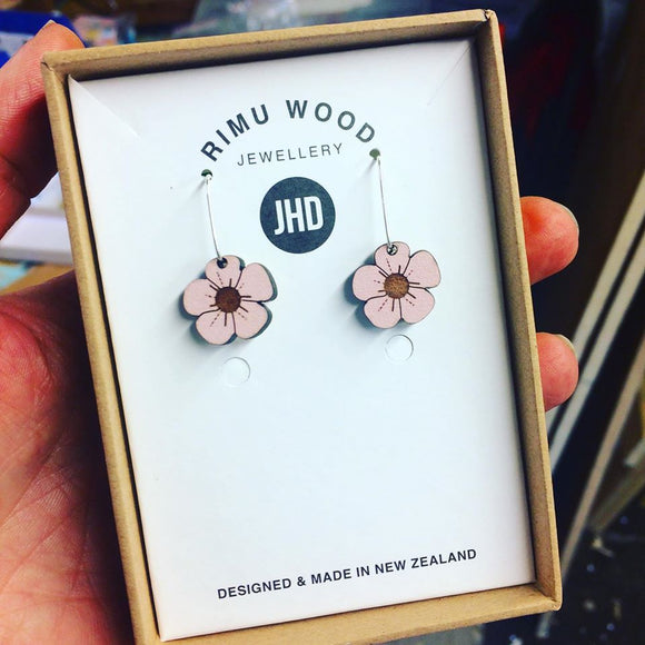 JHD  Rhododendron Dangle Earrings