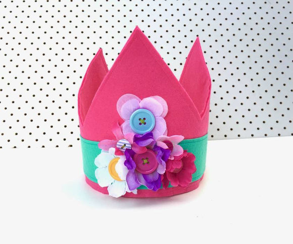 Dress-Up Felt Princess Crown