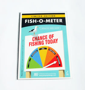 Fish-O-Meter (Interactive Magnet)