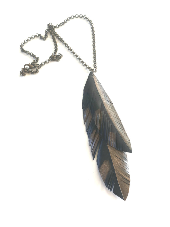 Ruru Feather Necklace