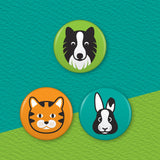 Badge 3 Pack (9 Designs!)