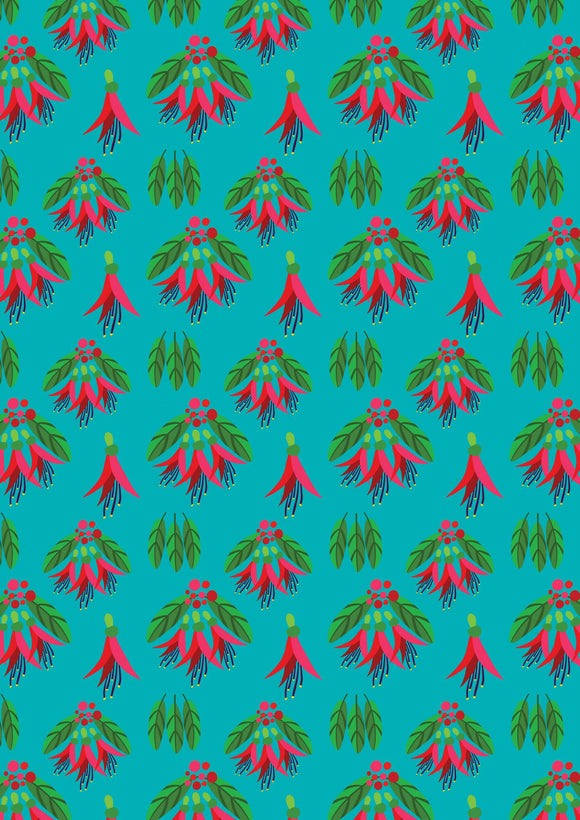 Kiwiana Patterned Wrapping Paper