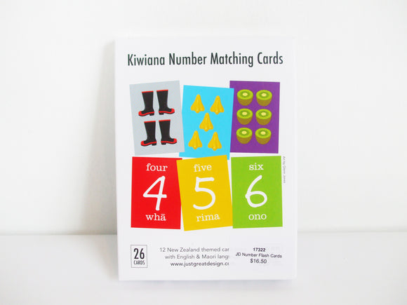 Number Flash Cards (With Maori!)