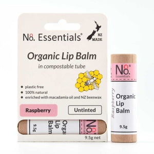 Organic Lip Balm (6 Scents) Tinted & Plain