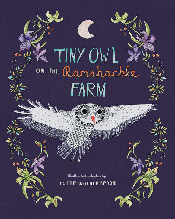 Tiny Owl by Lotte Wotherspoon