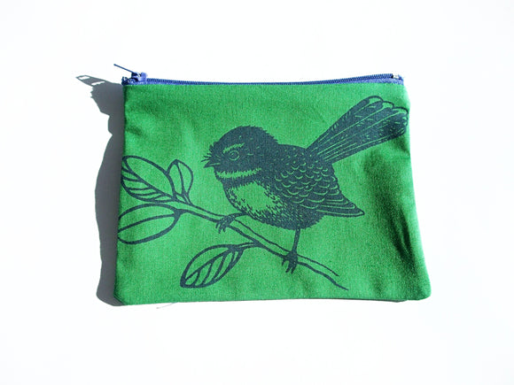 Fantail Coin Purse Green